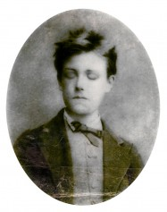 Arthur Rimbaud, portrait de la collection Félicien Marboeuf. Œuvre d'Alain Rivière, artiste.