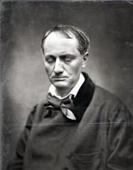 Charles Baudelaire, portrait de la collection Félicien Marboeuf. Œuvre d'Alain Rivière, artiste.