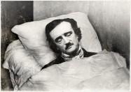 Edgar Allan Poe, portrait de la collection Félicien Marboeuf. Œuvre d'Alain Rivière, artiste.