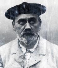 Émile Zola, portrait de la collection Félicien Marboeuf. Œuvre d'Alain Rivière, artiste.