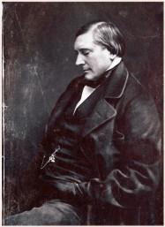 Eugène Labiche, portrait de la collection Félicien Marboeuf. Œuvre d'Alain Rivière, artiste.