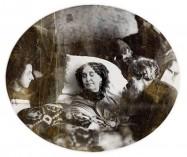 Georges Sand, portrait de la collection Félicien Marboeuf. Œuvre d'Alain Rivière, artiste.