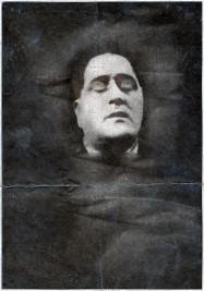 Guillaume Apollinaire, portrait de la collection Félicien Marboeuf. Œuvre d'Alain Rivière, artiste.
