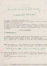 Hubris 3. Manuscrit d'un auteur imaginaire. Œuvre d'Alain Rivière, artiste plasticien.