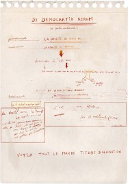 Hubris 4. Manuscrit d'un auteur imaginaire. Œuvre d'Alain Rivière, artiste plasticien.