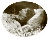Judith Gautier, portrait de la collection Félicien Marboeuf. Œuvre d'Alain Rivière, artiste.