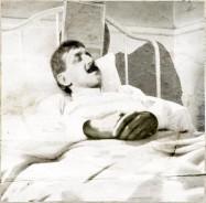 Marcel Proust, portrait de la collection Félicien Marboeuf. Œuvre d'Alain Rivière, artiste.