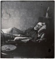 Octave Mirbeau, portrait de la collection Félicien Marboeuf. Œuvre d'Alain Rivière, artiste.