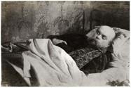 Paul Verlaine, portrait de la collection Félicien Marboeuf. Œuvre d'Alain Rivière, artiste.