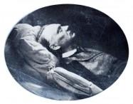 Victor Hugo, portrait de la collection Félicien Marboeuf. Œuvre d'Alain Rivière, artiste