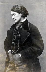 Victorien Sardou, portrait de la collection Félicien Marboeuf. Œuvre d'Alain Rivière, artiste.