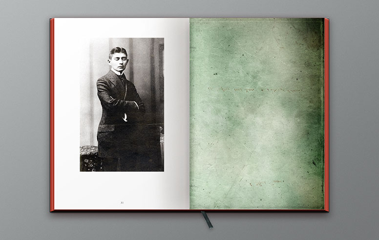 Franz Kafka, Fac-similé de la collection Matboeuf. Alain Rivière